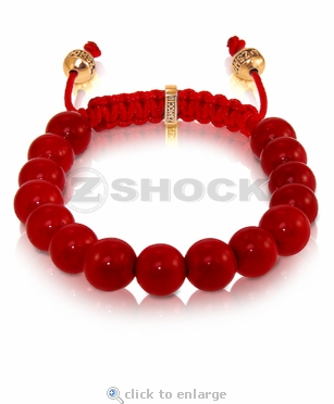 The Shockra Nome Blood Red Bracelet by ZShock