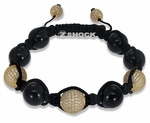 The Shockra Trio Onyx Bracelet