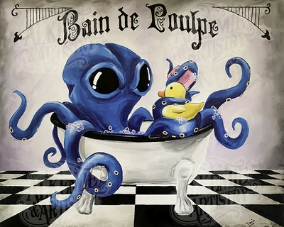Bain de Poulpe(Octopus Bath)/shipped