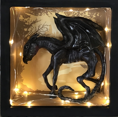 Thestral Shadowbox - Shipped