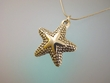 Starfish Sterling Silver Pendant Necklace