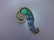 Sea-snail  PENDANT / PIN