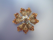 Swarovski Crystal Flower Brooch