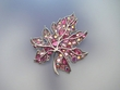 Swarovski  Crystal  Leaf  Brooch