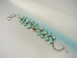 Green KingmanTurquoise Sterling Silver Bracelet