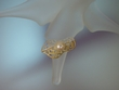 Sterling Silver & Gold Vermeil Freshwater Pearl Ring