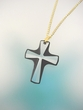 Swarovski Crystal  Cross  Pendant  Necklace
