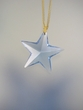 Light Sapphire Swarovski Crystal Star Pendant Necklace