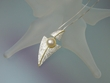 Artistic Freshwater Pearl & Sterling Silver Pendant