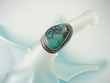 Turquoise Serling Silver Ring