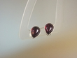 Cherry Baltic  Amber Sterling Silver Earrings