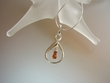 Honey  Baltic  Amber  Sterling Silver  Necklace