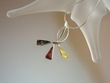 Multi-coloured  Baltic Amber Sterling  Silver Necklace