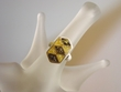 Green / Citrine Baltic Amber Sterling Silver Ring