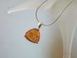 Classic Honey Baltic Amber Sterling Silver Pendant Necklace