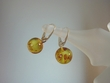 Light Honey Baltic Amber Sterling Silver Earrings