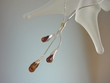 Honey Baltic  Amber  &   Sterling   Silver  Amber Necklace