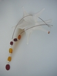 Multicolor Baltic Amber Drop Necklace