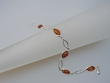 Marquise Honey  Baltic Amber Sterling Silver Bracelet