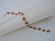 Honey Baltic Amber Sterling Silver Bracelet