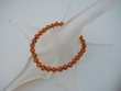 Honey Baltic Amber Round Stretch Bracelet - SOLD