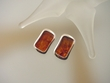 Honey Baltic Amber Sterling Silver CLIP Earrings