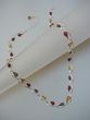 Multicolor Baltic Amber Sterling Silver Necklace