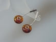 Modern Honey Baltic Amber Dangle Sterling Silver Earrings