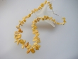 Butterscotch  Baltic  Amber  Nugget  Garland  Necklace
