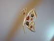 Multi-coloured  Baltic Amber Sterling Butterfly Pin