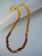 Classy  Colour  Gradation  Baltic  Amber  Necklace