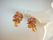 Honey Baltic Amber Sterling Silver Earrings