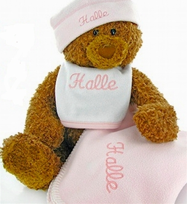 Gund Bear Collectible Set-Pink