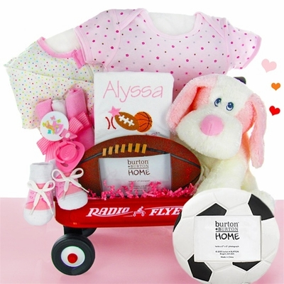 Personalized All Star Girl Wagon