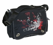 Sam's Messenger Bag by Kalencom Black Dragon