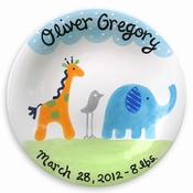 Personalized Baby & Birth Plates