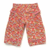 Room Seven Crimson Floral Cord Pants