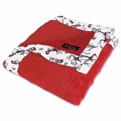 """Trend Lab Dr. Seuss Receiving Blanket """"Cat In The Hat Red"""""""