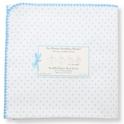 SwaddleDesigns - Ultimate Receiving Blanket - Bright Blue