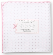 SwaddleDesigns - Ultimate Receiving Blanket - Bright Pink