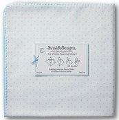 SwaddleDesigns - Ultimate Receiving Blanket - Pastel Blue