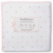 Ultimate Swaddle Sterling Little Dots Pastel Pink