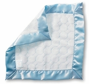 SwaddleDesigns Baby Lovie Pastel Puff Circles Blue