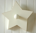 Small Wooden Star Pegs