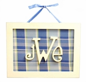 New Arrivals Rectangle Monogram Plaque