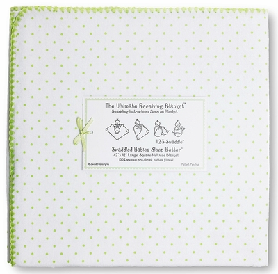 SwaddleDesigns - Ultimate Receiving Blanket - Kiwi