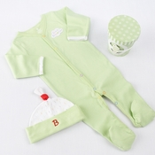 """Sweet Dreamzzz"" A Pint of PJ's Sleep-Time Gift Set, Lime"