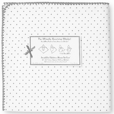 SwaddleDesigns - Ultimate Receiving Blanket - Sterling