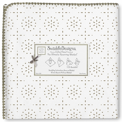 Ultimate Swaddle Sparklers Taupe Gray