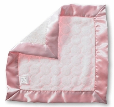 SwaddleDesigns Baby Lovie Pastel Puff Circles Pink